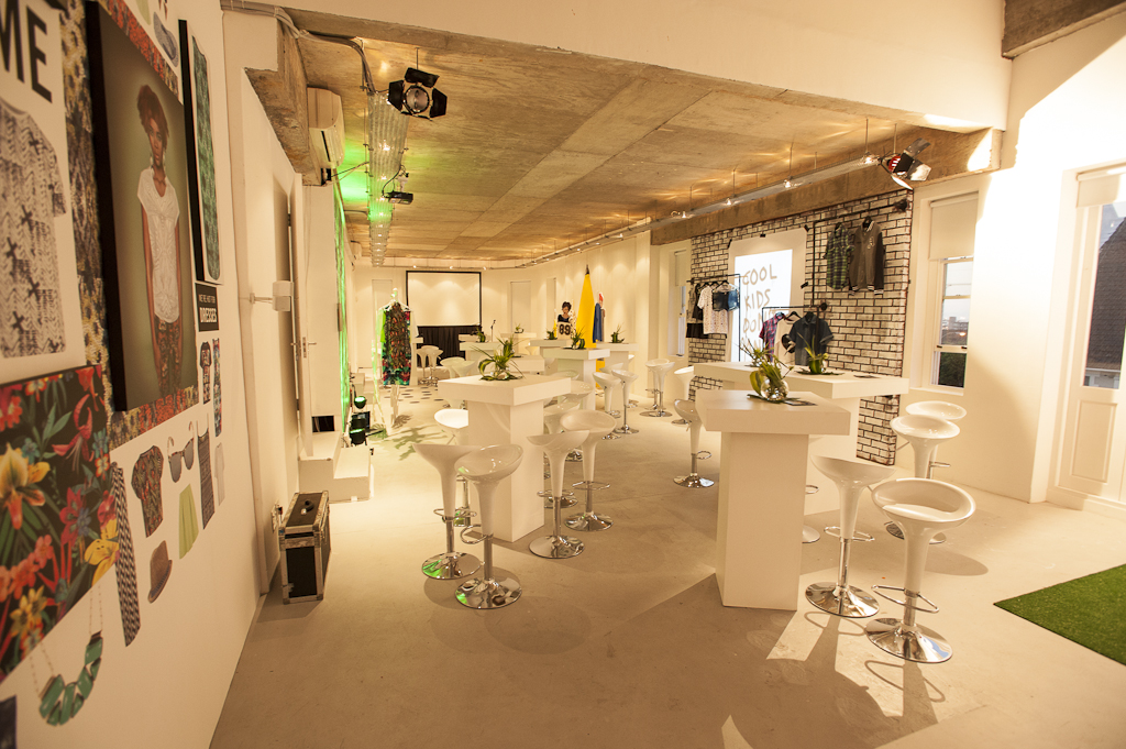 Event setup in our Jett Studio venue, Cape Town