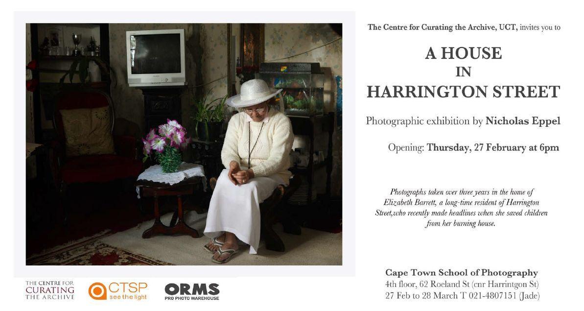 Nicholas Eppel exhibition invite