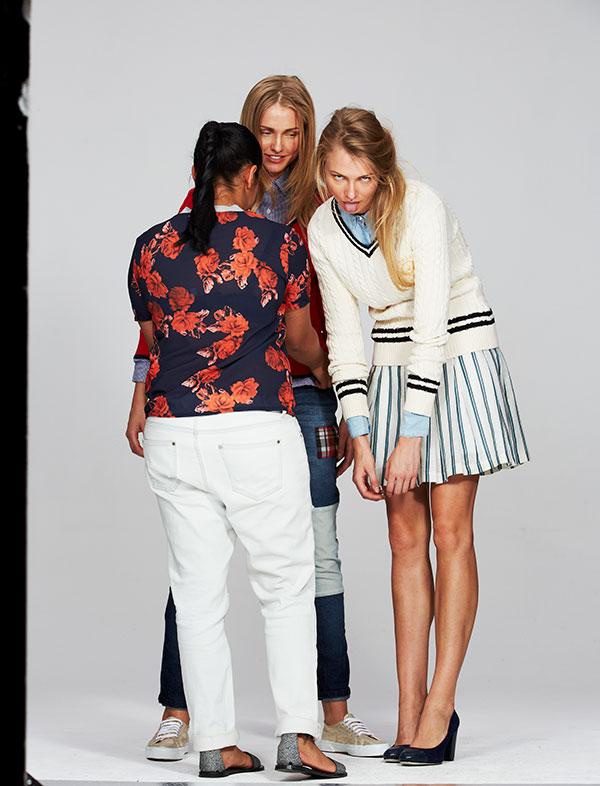 Twin Models For Elle Fashion Shoot At Roodebloem Studios