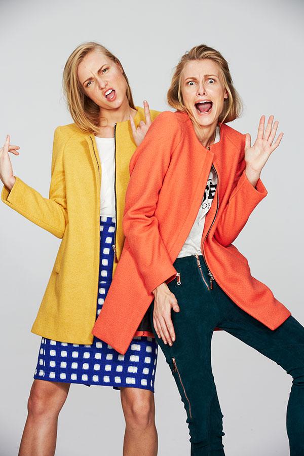 Fashion Model twins fashion shoot at Roodebloem Studios