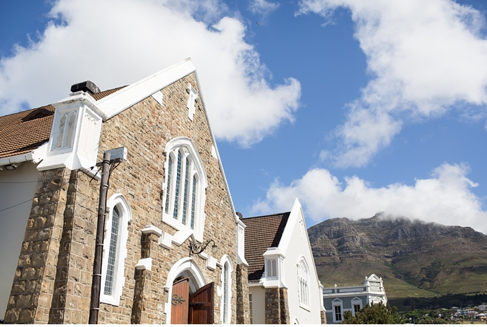 Wedding in the Church Studio at Roodebloem Studios Cape Town
