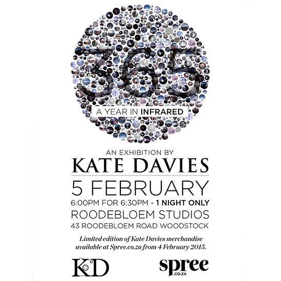 Kate Davies 365 Infrared photography Exhibition at Roodebloem Studios