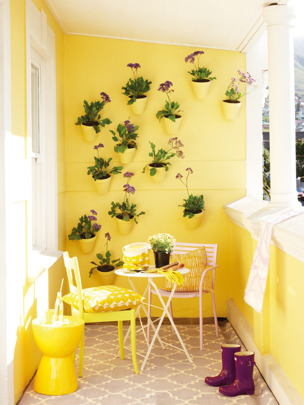 Roodebloem Studios Balcony Painted By Plascon Photographic Studio